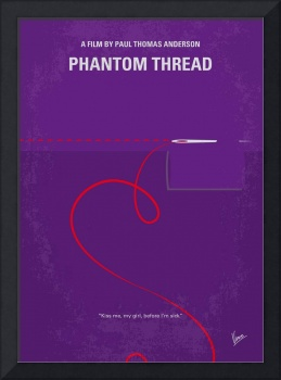 No904 My Phantom Thread minimal movie poster