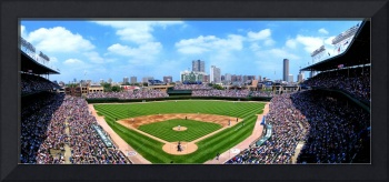 Wrigley Field, Home of the Cubs, Chicago, IL