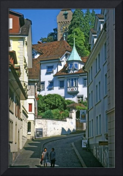 Luzern Street in Summer