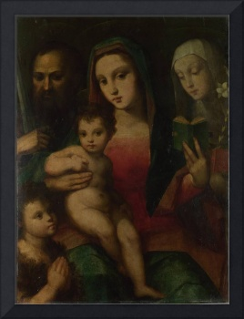 Andrea and Raffaello del Brescianino - The Madonna