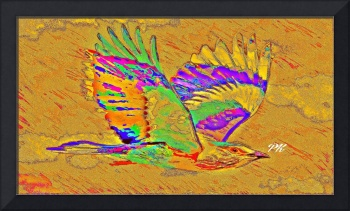 Abstract Bird Art 1
