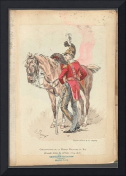 French Soldier in Uniform, France, 1800s - 21