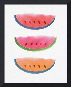 Picnic - Watercolor Watermelons