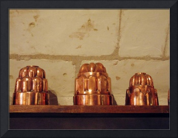 Copper Molds at Chateau Chenonceau, France