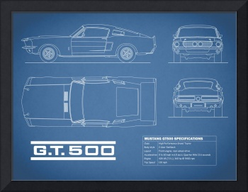 Shelby Mustang GT500 Blueprint