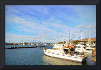 Early Morning at Maalaea Marina