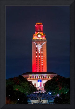 UT Tower with Longhorn