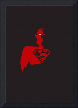 Superman - Red and Black