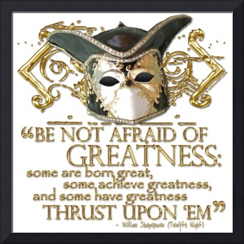 Twelfth Night Greatness Quote