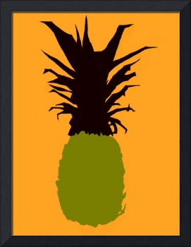 Pineapple green maroon orange (c)