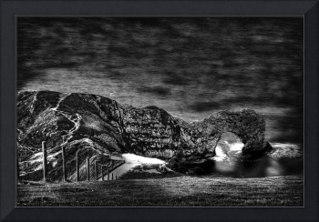 Durdle Door Monotone