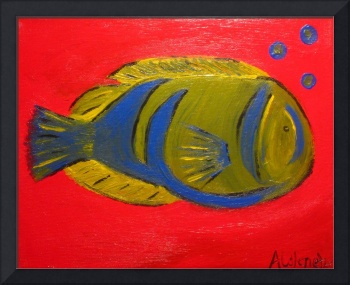 Fish on Red