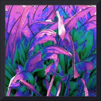 Expressive Abstract Grass Series A2R