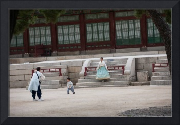 Time Travelers in Gyeongbokgung Palace
