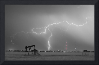 Oil Fields Lightning Thunderstorm BWSC