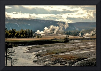 Yellowstone view from Old Faithful