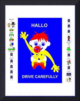Drive Carefully - Fairy Tale Poster