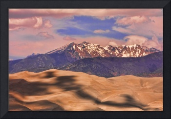 Shadows on the Colorado Great Sand Dunes