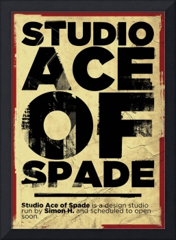 Studio Ace of Spade - Monthly poster series 03.10
