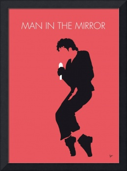 No032 MY MICHAEL JACKSON Minimal Music poster