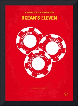 No056 My Oceans 11 minimal movie poster