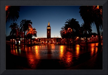 SF Ferry Building in the morning