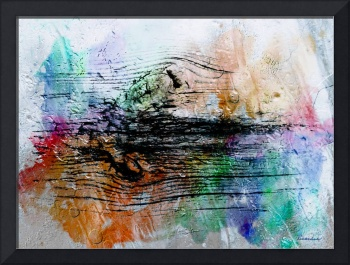 2h Abstract Expressionism Digital Painting