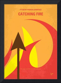 No175-2 My Hunger Games minimal movie poster