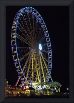 The Great Wheel At Night (c)
