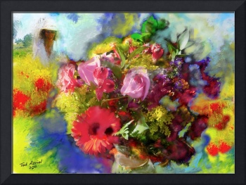 The Florist, Digital Oil Brushes