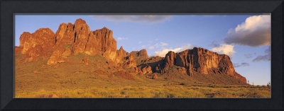 Sunset Superstition Mountains Tonto National Fore