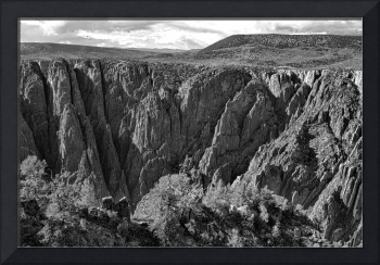 Black Canyon of the Gunnison 4 BW