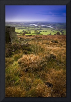 The view from the Roaches Cottage