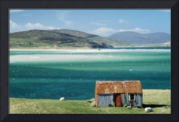 Hut On West Coast Of Isle Of Harris, Losgaintir, S