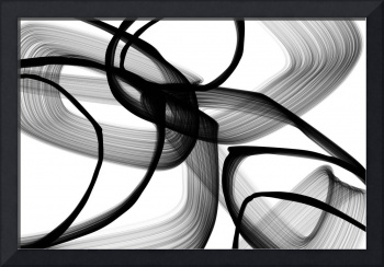 ORL-7157 Abstract Poetry in Black and White 100