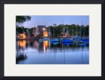 Minneapolis Skyline Lake Harriet Bandshell by Wayne Moran