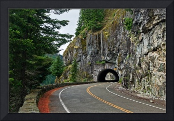 Road into a tunnel 14408