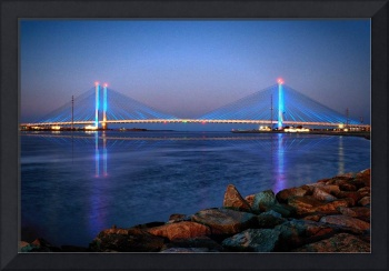Indian River Inlet Bridge at Twilight
