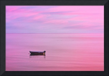 Cape Cod : Pink Sunset