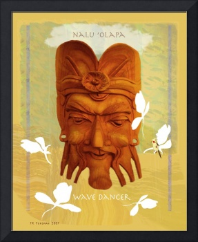 Hawaii: nalu olapa 'wave dancer' collage