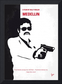 No526 My MEDELLIN minimal movie poster