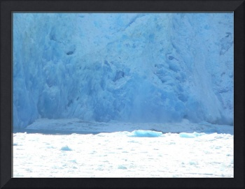 Minor Calving of Sawyer Glacier in Tracy Arm Fjord