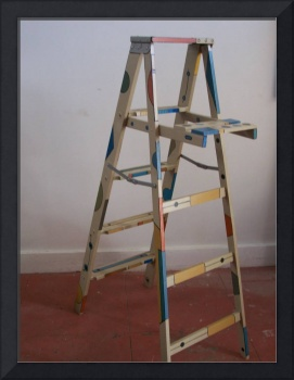 Painted ladder