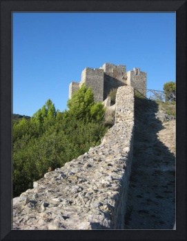 Castle Ruins in Talamone Italy