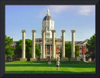 Jesse Hall and Columns, University of Missouri