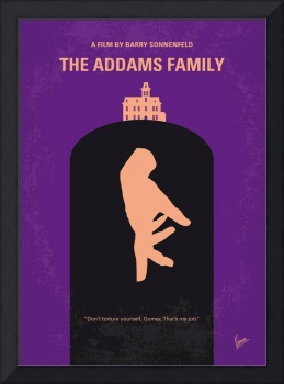 No423 My The Addams Family minimal movie poster