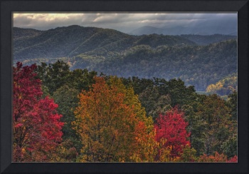 Autumn in Great Smoky Mountain NP