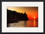 Split Rock Lighthouse - Sunrise by Wayne Moran