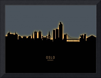 Oslo Norway Skyline