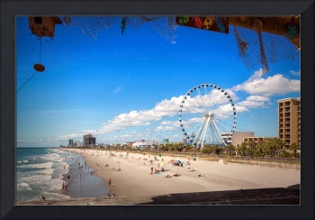 The Myrtle Beach Boardwalk and SkyWheel